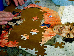 Large piece Jigsaw Puzzle for older eyes