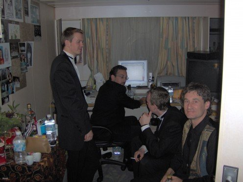 My VERY talented (and well-dressed) friends from the Orchestra.