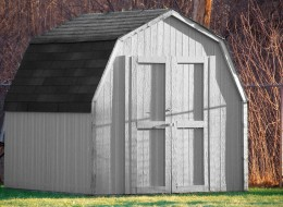 Wooden Sheds are classic and attractive.