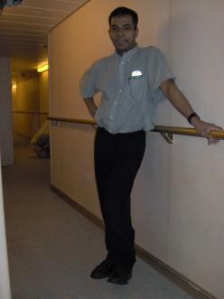 My cabin-Steward, Antonio: A HARD-WORKING MAN!