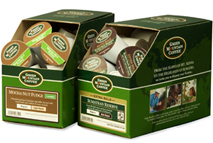 One of the largest supporters of the K-Cup line is Green Mountain Coffee