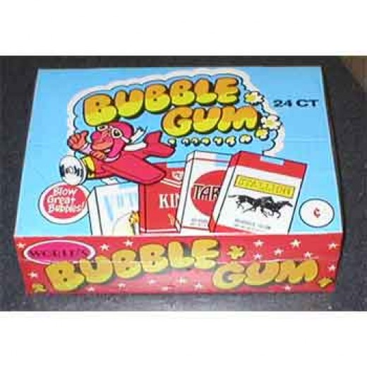 The first Bubble Gum was invented by Frank Fleer in 1906 , but never made it