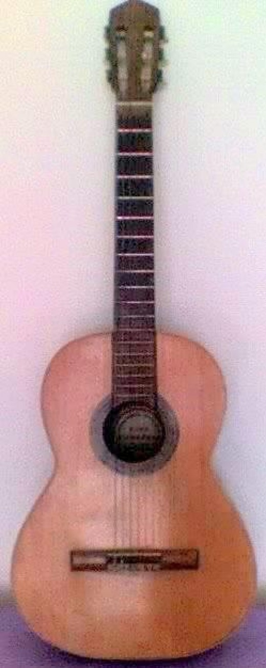 An old but typical instrument