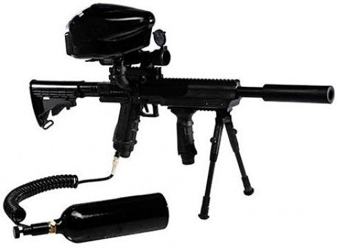 Paintball Guns - How to choose a paintball marker