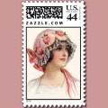 This is an example of my vintage image on stamps