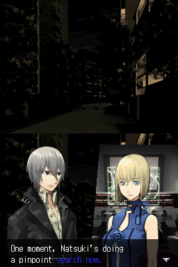 Atsuki confers with Nola.