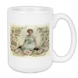 This is one of my vintage designs on a cup