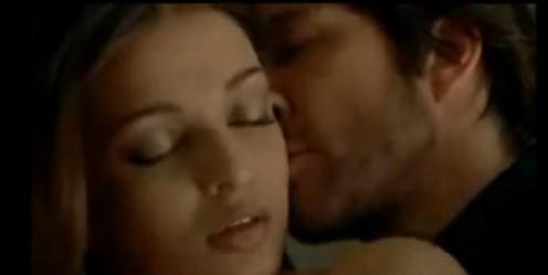 Aishwarya Rai Hot Kiss