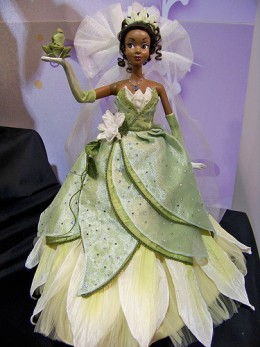 Princess Tiana Doll in Wedding Dress