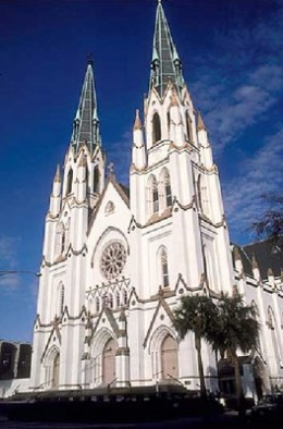 Attend St. Patrick's Day mass at the Cathedral of St. John the Baptist.