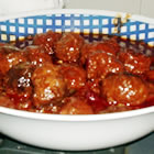 Sweet and Sour Meatballs (from Allrecipes)