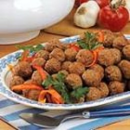 Baked Meatballs (from Allrecipes)