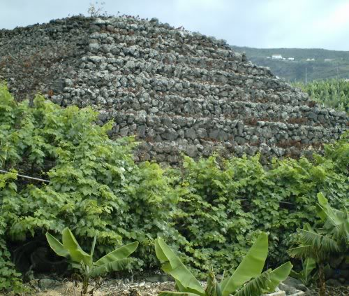 San Marcos La Suerte pyramid near Icod Photo by Steve Andrews