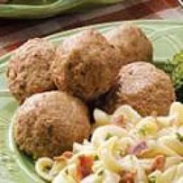 Pork Meatballs (from Allrecipes)