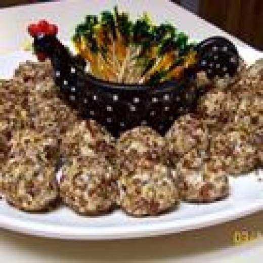 Crunchy Chicken Balls (from Allrecipes)