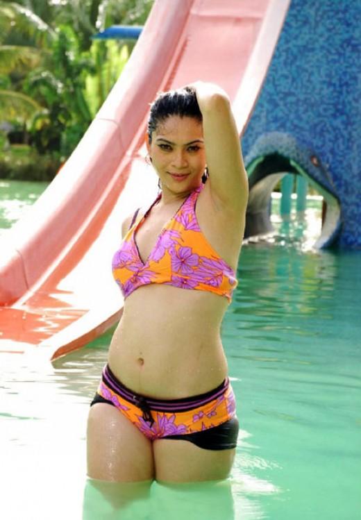 Top India Women Actress with Sexy Bikini
