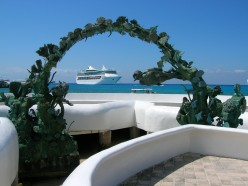 Anchored off Cozumel.