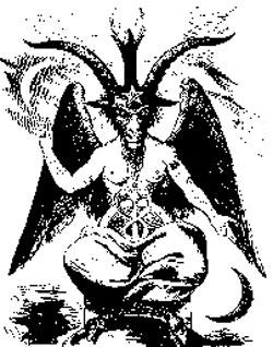 Demonic images...