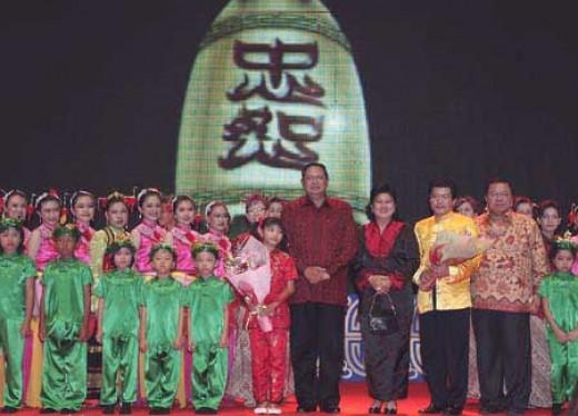 President Susilo Bambang Yudhoyono in IMLEK celebration 2009