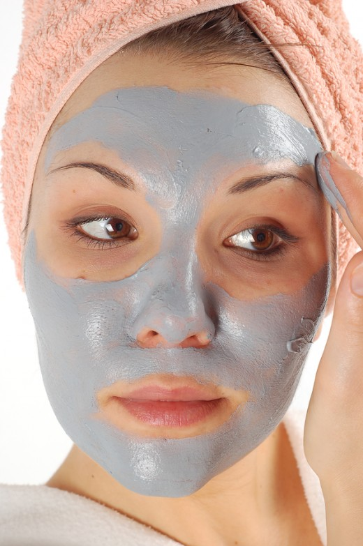 Clay scrubs are gentle on skin!