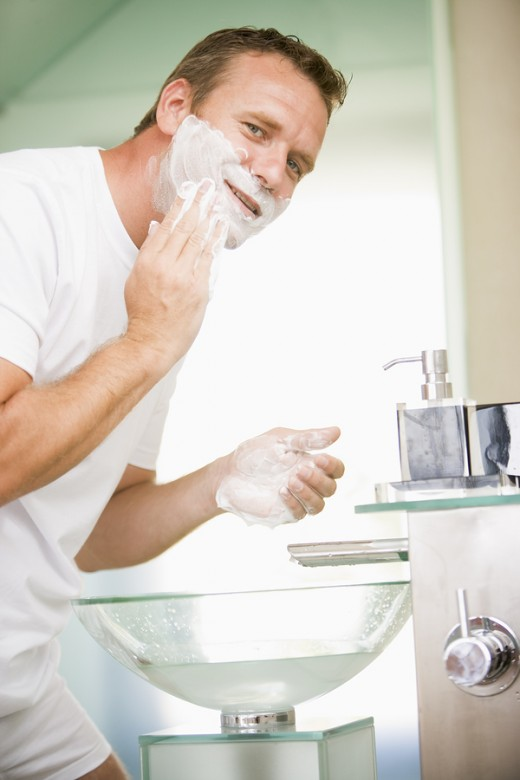 Men remove SOME dead skin cells when they shave!