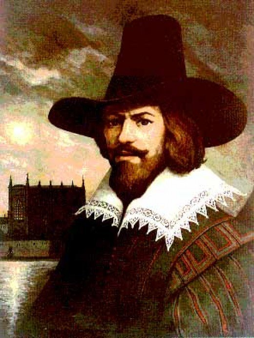 Guy Fawkes himself.
