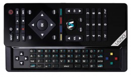 The customized Bluetooth VURIO remote with slide out QWERTY keypad -- image credit: amazon.com