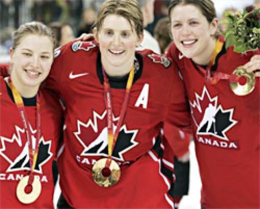 Hockey Gold - photo credit: CBC.ca