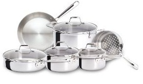 Stainless steel Emerilware