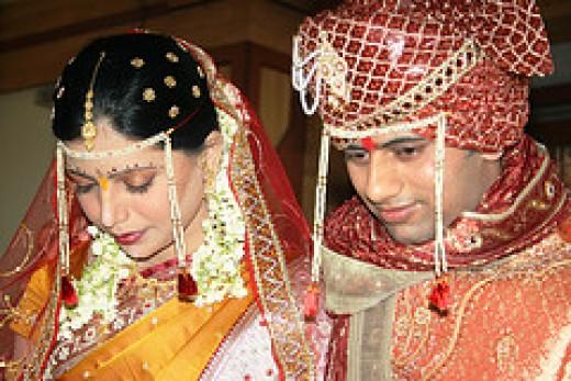 13 steps in hindu marriage Hindu Indian Weddings indian couples in their