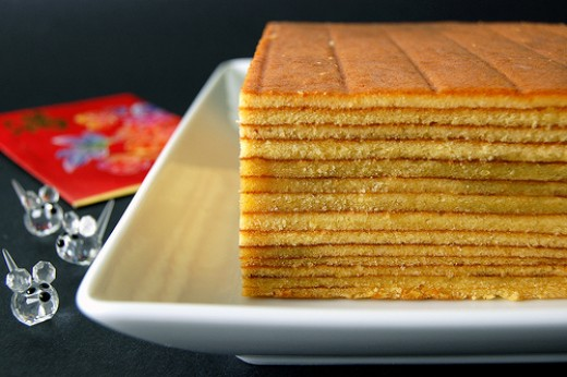 Lapis Cake or Layer Cake