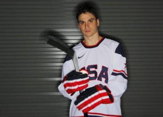 Team Captain, Jamie Langenbrunner of the New Jersey Devils