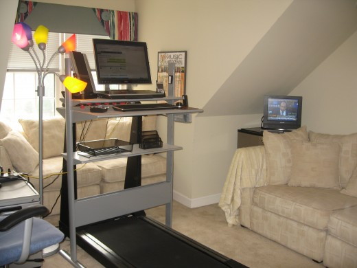 Treadmill Desk Solution