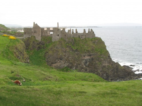 Dunluce Castle Ireland - Castle of intrigue