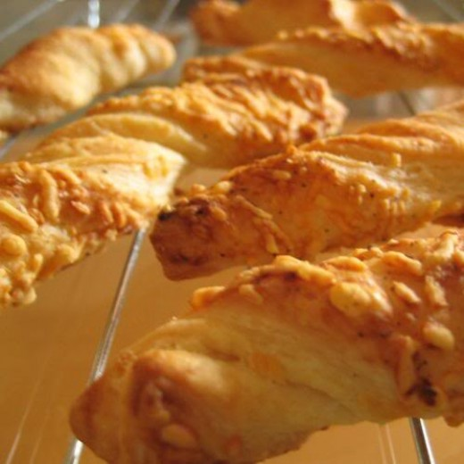 Be sure to make a double batch of cheese straws - you will want to eat ALL of this gift!