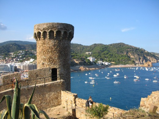 Tossa de Mar, Costa Brava, Catalonia, Spain, 2007. Copyright: Trish_M (Tricia Mason)