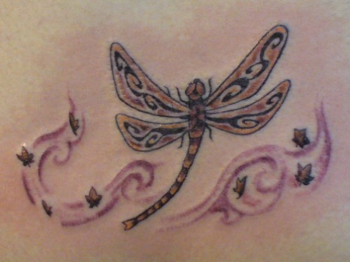 Labels: pink butterfly tattoo