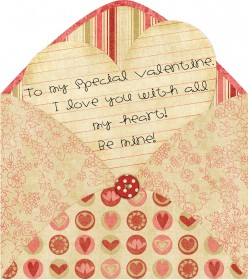 Make your own Valentines Day Card