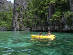 Enjoy her pristine water by kayaking.