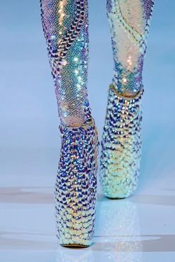 The Alexander McQueen Sea Serpent Shoe.