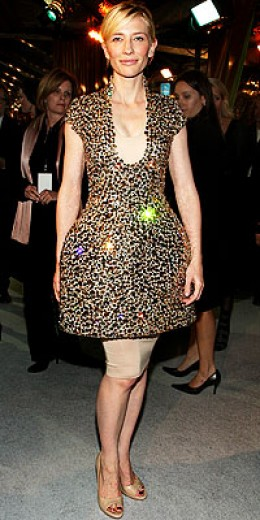Cate Blanchette in Alexander McQueen
