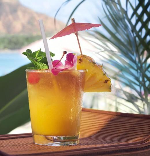 Pineapple juice recipe.