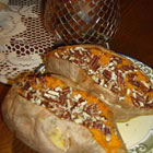Stuffed Baked Sweet Potatoes with Pecans (from Allrecipes)