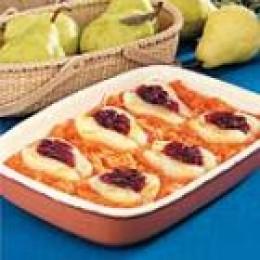 Sweet Potato Pear Bake (from Allrecipes)