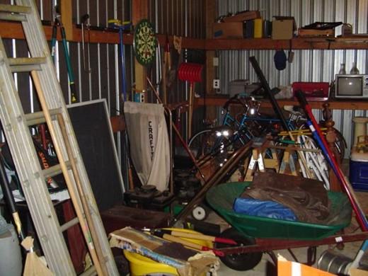 how to organize your garage, vilhelm, morguefile.com