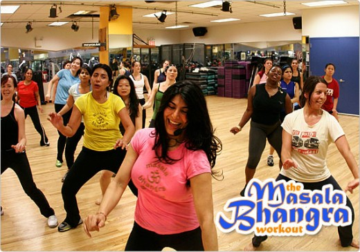 Masala Bhangra Workout by Desi Girls