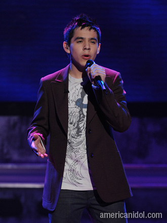 David Archuleta Singing His Heart Out On American Idol