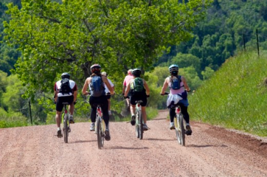 Mountain bikes are quite superior to normal road bikes, because of the increased number of gears in them. They are faster and have better controls.