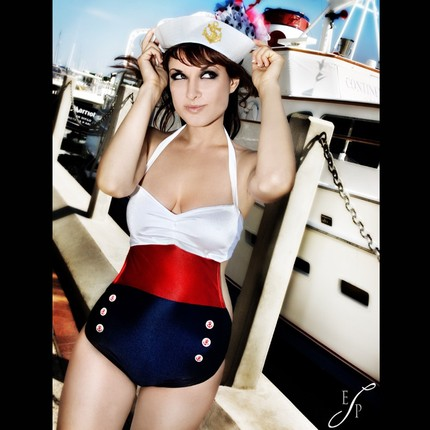 Naughty, Nautical Look - One Piece, Man Pleaser