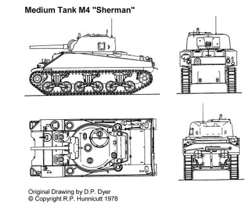 Sherman Tank was one of the powerful tanks during World War II,